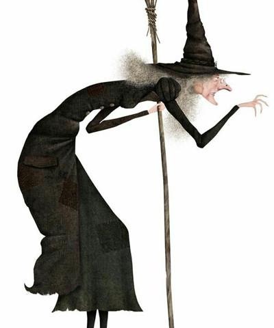 Wie sieht eine Hexe aus  Zauberkreisch